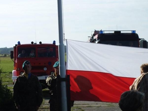 Powiatowe uroczystości rocznicowe pn. Apel Pamięci 17 września 39 roku.